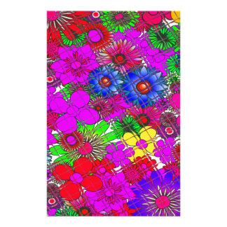 DES asombroso colorido hermoso nervioso del Papelería Personalizada
