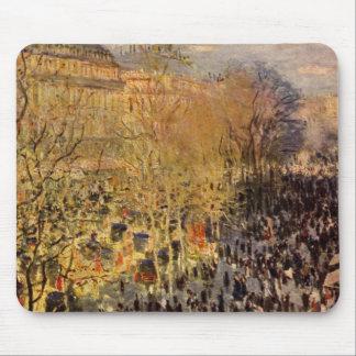 DES Capucines de Claude Monet, bella arte del Alfombrilla De Ratón