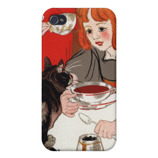 DES Chocolats, Steinlen de Compagnie Francaise iPhone 4 Protector