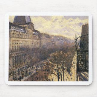 DES Italiens del bulevar de Gustave Caillebotte Alfombrilla De Ratón