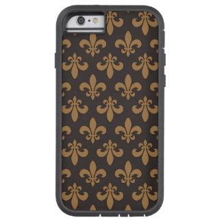 DES Lis Chocolat Chaud de Fluer Funda De iPhone 6 Tough Xtreme
