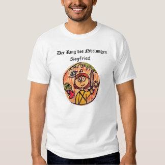 DES Nibelungen del anillo de Der: Siegfried Camisas