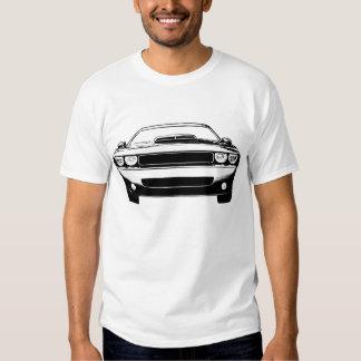 Desafiador de Dodge Camisetas