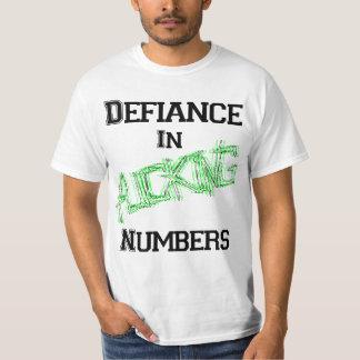 Desafío en los números de F'in Camiseta