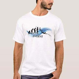 Desarrolle la camiseta de Spearfishing