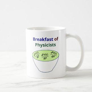 Desayuno de físicos taza de café
