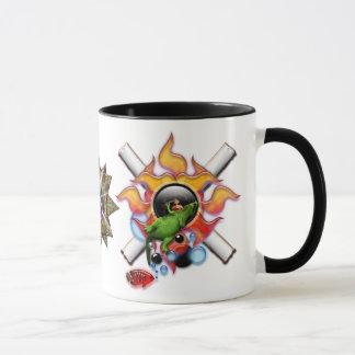 Desayuno psicodélico taza