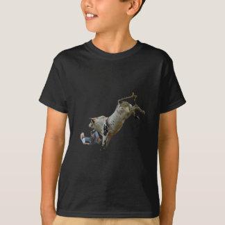 Descarga del montar a caballo de Bull Camiseta