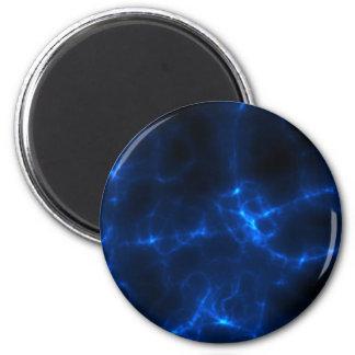 Descarga eléctrica en azul marino imán