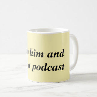 Descargúelo y encienda una taza del podcast