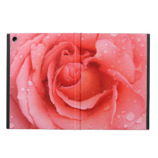 Descensos rosados rojos románticos del agua color funda para iPad air