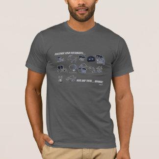 Descubra sus documentos dondequiera… camiseta