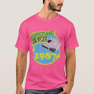 Desde 1987 - camiseta retra impresionante del
