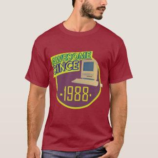 Desde 1988 - camiseta retra impresionante del