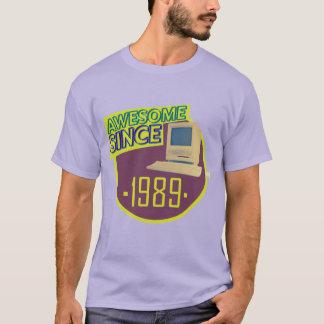 Desde 1989 - camiseta retra impresionante del