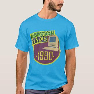 Desde 1990 - camiseta retra impresionante del