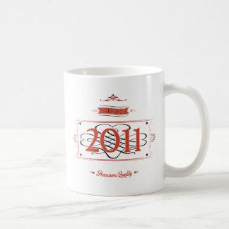 Desde 2011 (Red&Black) Taza De Café