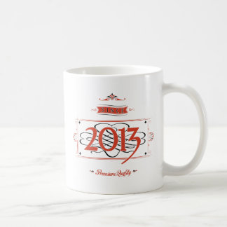 Desde 2013 (Red&Black) Taza De Café