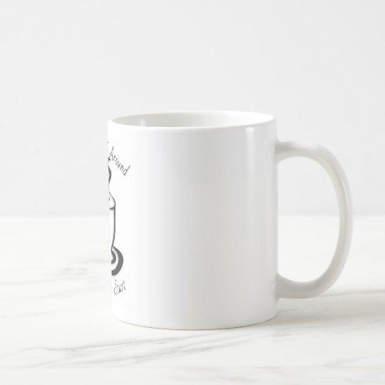 Dése vuelta alrededor para un NUEVO COMIENZO Taza De Café