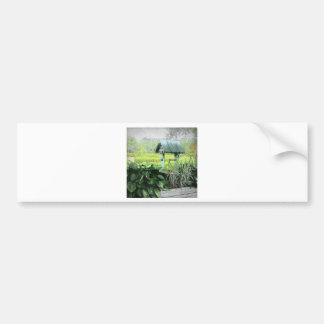 Desear tarjetas de felicitación bien pegatina de parachoque