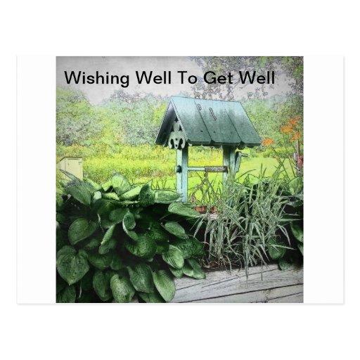 Desear tarjetas de felicitación bien postales
