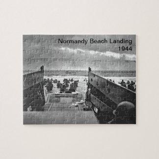 Desembarco por playa de Normandía Puzzle