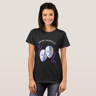 ¡Desenmascare al Narcissist! Camiseta