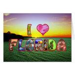 Deseo pintoresco de la Florida del *Heart* del fel Felicitaciones