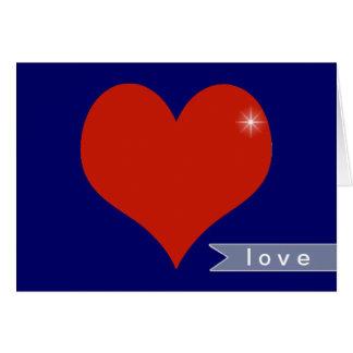 deseos del amor tarjeta de felicitación
