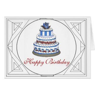 Deseos del cumpleaños tarjeta de felicitación