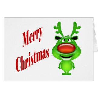 Deseos del día de fiesta del navidad de los asunto tarjeta de felicitación