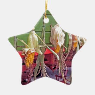desfile de la acción de gracias adorno de cerámica en forma de estrella