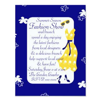 Desfile de moda de Sundress Invitación 10,8 X 13,9 Cm