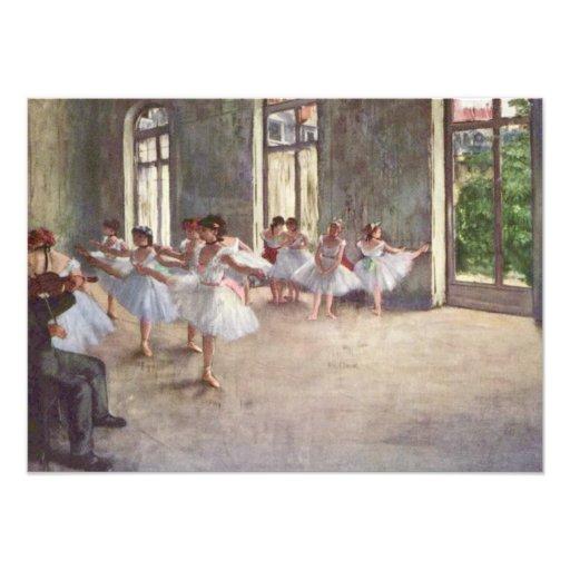 Desgasificaron ensayo del ballet fotos
