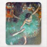 Desgasifique - a los bailarines verdes alfombrilla de ratón