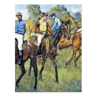 Desgasifique - los caballos de raza, 1878, postal