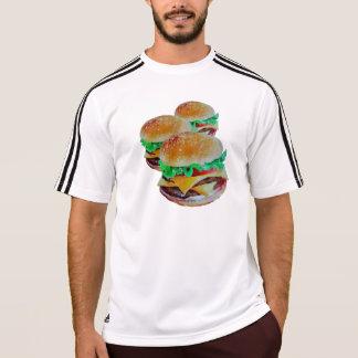 Desgaste activo de la hamburguesa, diseño original camiseta