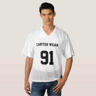 Desgaste de Carretero - jersey del fútbol - blanco