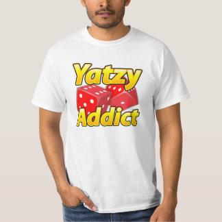¡Desgaste de la diversión del adicto a Yatzy Camisas