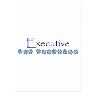 Desgaste ejecutivo de la marca de los servicios de tarjeta postal