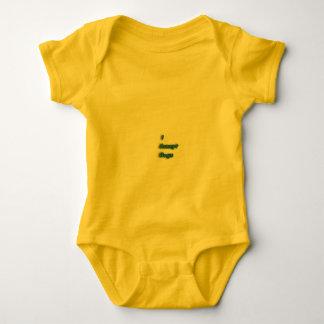 Desgaste fresco del lema body para bebé