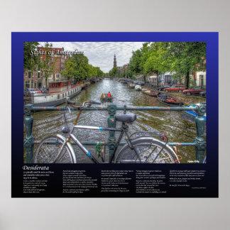 Desiderátums - opinión y bici del puente del canal posters