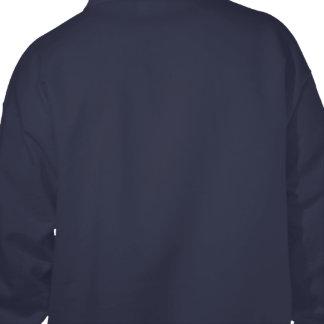 Design Your Own Navy Blue Hooded Sweatshirt