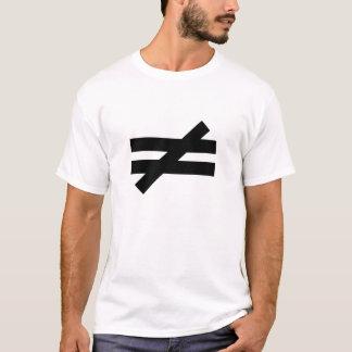 Desigualdad #4 - La guerra eterna - cita de Abir Camiseta