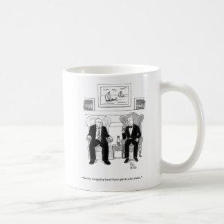 Desigualdad de la renta taza de café