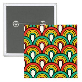 Deslumbramiento único clásico moderno chapa cuadrada 5 cm