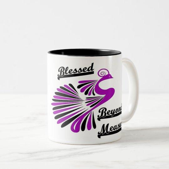 Desmesuradamente taza de café bendecida
