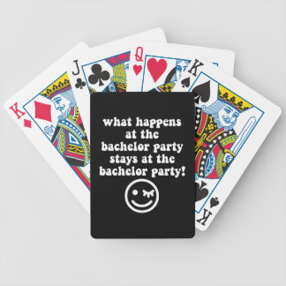 despedida de soltero baraja cartas de poker