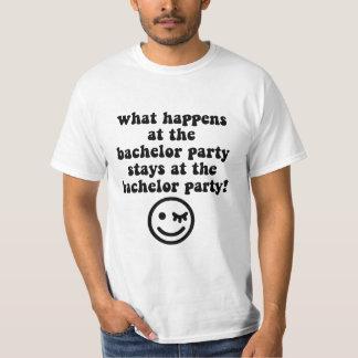 Despedida de soltero camiseta