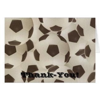 Despedir el de agradecimiento Notecard del balón Tarjeta Pequeña
